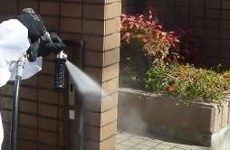⑦_(1)施工箇所を洗浄する