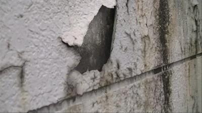 塗膜の膨れ、剥がれ(外壁・建材不問)2