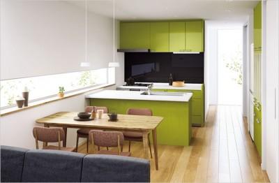 Ⅱ型キッチン(パナ)