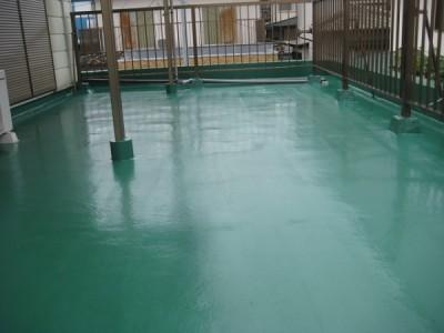 ウレタン塗膜防水工法
