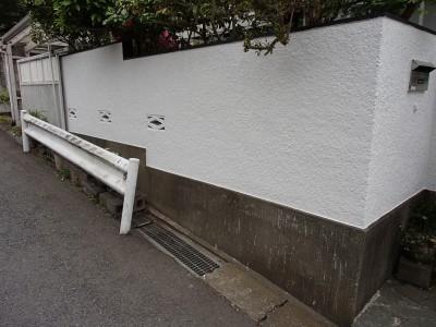 ブロック塀
