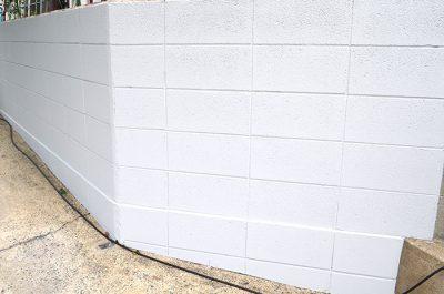 ブロック塀 塗装