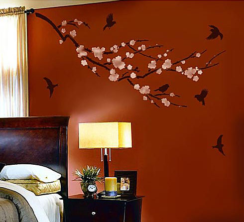Cherry-branch-wall-decal