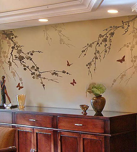 Cherry-branches-dining-room