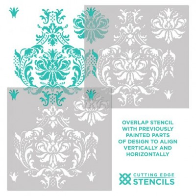 Gabrielle-Damask-how-to-stencil-instructions