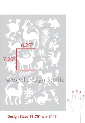 otomi-pattern-wall-stencil