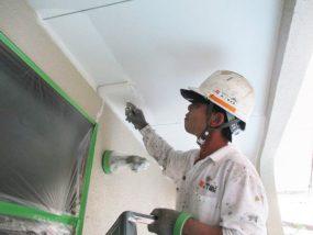 軒天の塗装事例