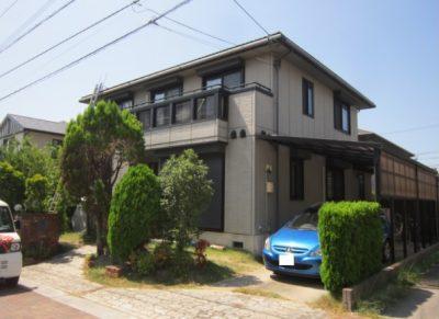 八幡西区 K様邸 外壁・屋根塗装 1