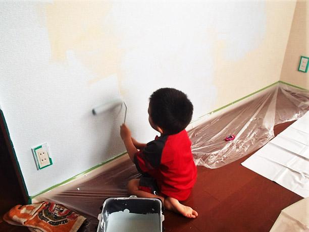 内壁 塗装