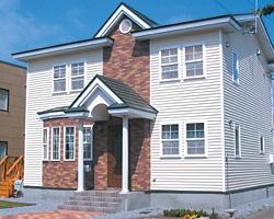 サイディングの住宅