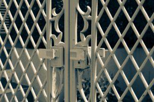 アルミ製の門扉