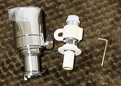 食洗機の分岐水栓