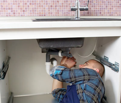 食洗機の取り付け工事