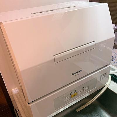 食洗機設置完了